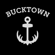This is the restaurant logo for Bucktown