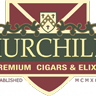 This is the restaurant logo for Churchill's
