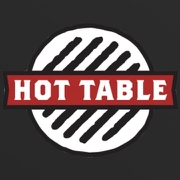 This is the restaurant logo for Hot Table