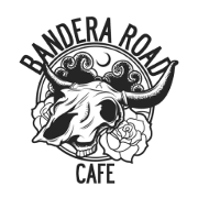 This is the restaurant logo for Bandera Road Cafe