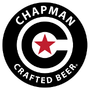 This is the restaurant logo for Chapman Crafted Beer