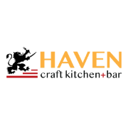 This is the restaurant logo for Haven Craft Kitchen