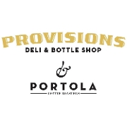 This is the restaurant logo for Provisions Deli & Bottle Shop