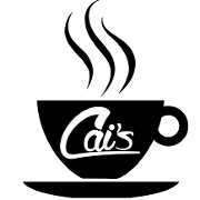 This is the restaurant logo for Cai's Cafe