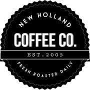 This is the restaurant logo for New Holland Coffee Co.