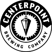 This is the restaurant logo for Centerpoint Brewing Company