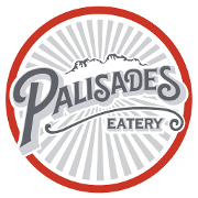 This is the restaurant logo for Palisades Eatery