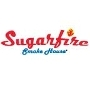 This is the restaurant logo for Sugarfire Smokehouse