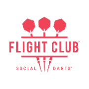 This is the restaurant logo for Flight Club