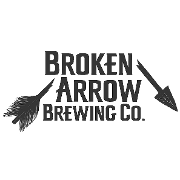 This is the restaurant logo for BROKEN ARROW BREWING CO.