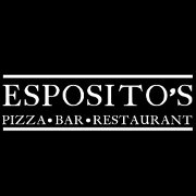 This is the restaurant logo for Esposito's New York & Coal Fired Pizza