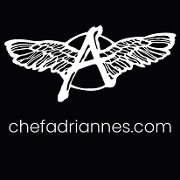 This is the restaurant logo for Chef Adrianne's