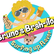 This is the restaurant logo for Bruno's Brah-itos