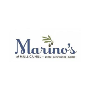 This is the restaurant logo for Marino's of Mullica Hill