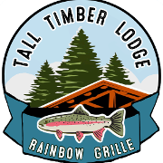 This is the restaurant logo for Rainbow Grille & Tavern