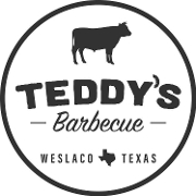 This is the restaurant logo for Teddy's Barbecue