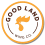 Restaurant logo for Good Land Wing Co.