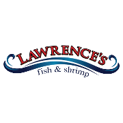 This is the restaurant logo for Lawrence's Fish & Shrimp