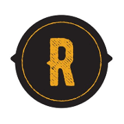 This is the restaurant logo for Railgarten