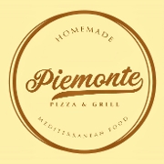 This is the restaurant logo for Piemonte Pizza