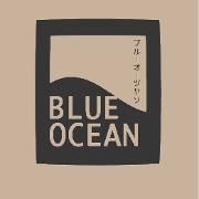This is the restaurant logo for Blue Ocean