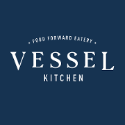 This is the restaurant logo for Vessel Kitchen