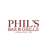 This is the restaurant logo for Phil's Bar and Grille