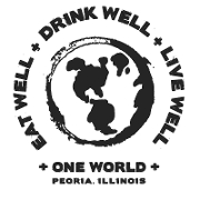 This is the restaurant logo for ONE WORLD