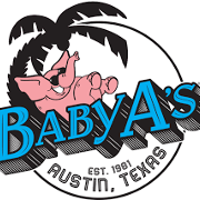 This is the restaurant logo for Baby Acapulco