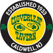 This is the restaurant logo for Cloverleaf Tavern