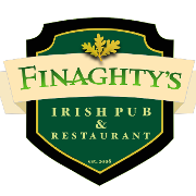 This is the restaurant logo for Finaghty's Irish Pub & Restaurant