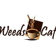 This is the restaurant logo for Weeds Cafe