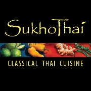 This is the restaurant logo for SukhoThai New Orleans