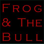 This is the restaurant logo for Frog & The Bull