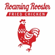 This is the restaurant logo for Roaming Rooster