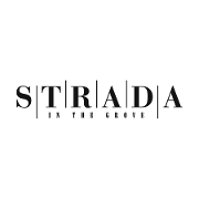 This is the restaurant logo for Strada in the Grove