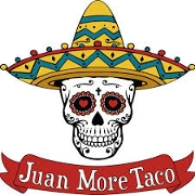 This is the restaurant logo for Juan More Taco
