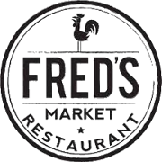 This is the restaurant logo for Fred's Market