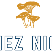 This is the restaurant logo for Chez Nick