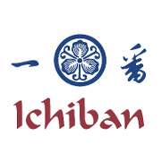 This is the restaurant logo for Ichiban Japanese Restaurant