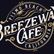 This is the restaurant logo for Breezeway Cafe