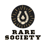 This is the restaurant logo for Rare Society
