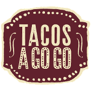This is the restaurant logo for Tacos A Go Go