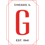 This is the restaurant logo for Gene & Georgetti