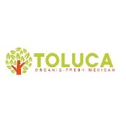 This is the restaurant logo for Toluca Organic