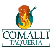 This is the restaurant logo for Taqueria Comalli