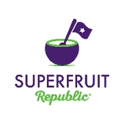 This is the restaurant logo for Superfruit Republic - Central Park