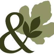 This is the restaurant logo for Fig & Ash Wood Fire Kitchen