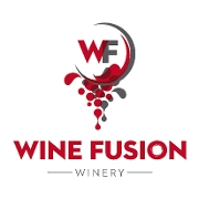 This is the restaurant logo for Wine Fusion Winery