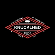 This is the restaurant logo for KnucklHed BBQ Food Truck
